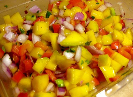 Teriyaki Chicken with Mango Salsa - Personal Trainer Food Recipe | 28 ...